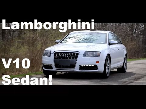 A Luxury Sedan With A Lamborghini V10?! | Audi S6 Review - YouTube