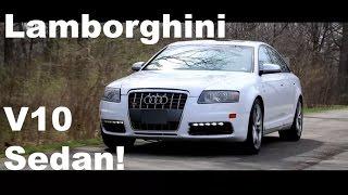 A Luxury Sedan With A Lamborghini V10?! | Audi S6 Review