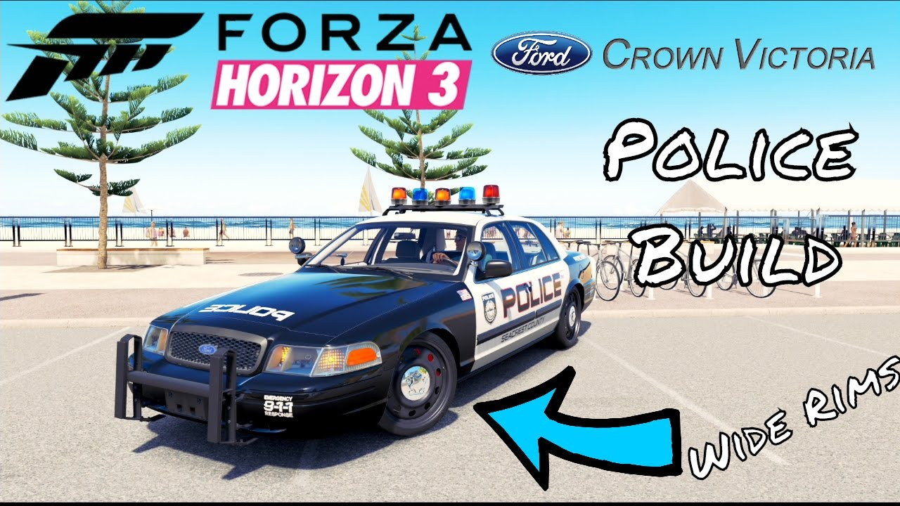 Forza horizon 3 ford crown victoria test drive review gameplay