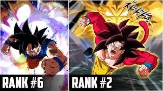 Top 10 Goku Super Attacks In Dokkan Battle | DBZ Dokkan Battle List