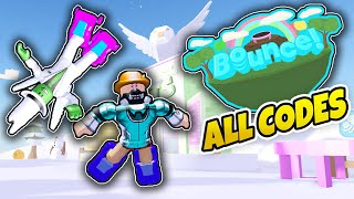 Trying to Beat RussoPlays at Roblox Bounce - ALL BOUNCE CODES (Roblox)