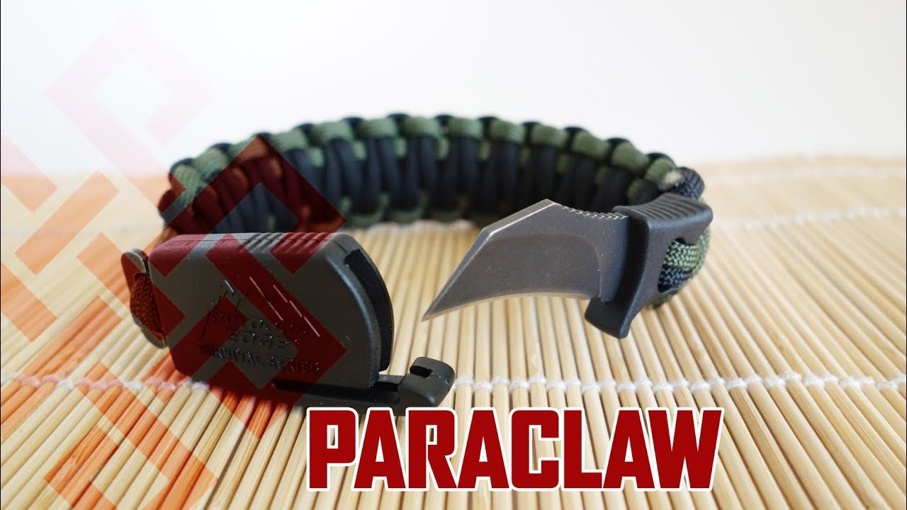How To Make A Paraclaw Paracord Bracelet Paracord