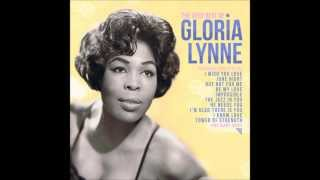 "Gloria Lynne  ""I Wish You Love"""