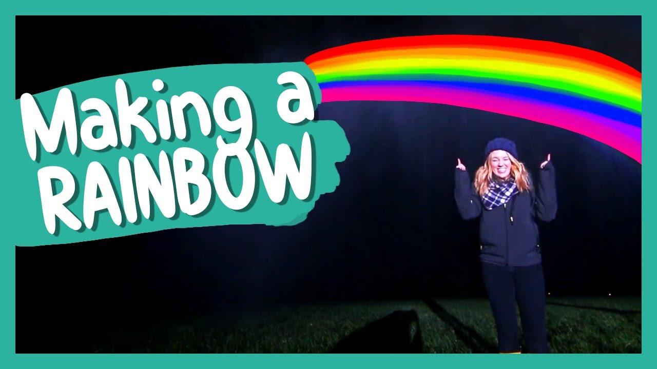Making a Double Rainbow | BBC Earth Kids