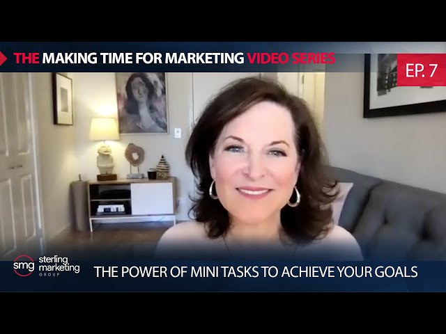 The Power of Mini Tasks To Achieve Your Goals