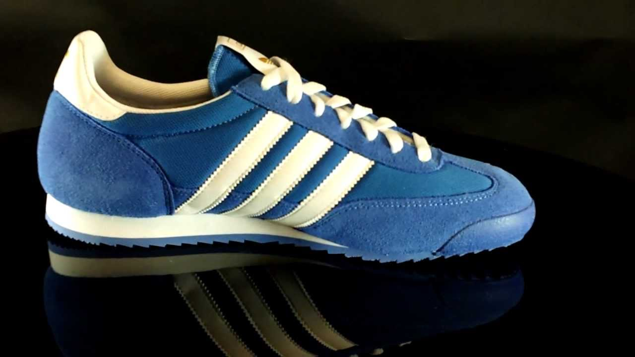 adidas dragon blue