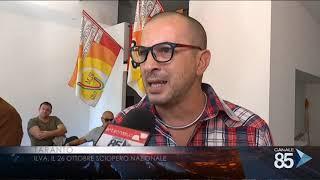20 ottobre 2018   Taranto   ILVA Il 26 ottobre sciopero nazionale