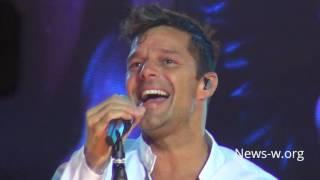 Ricky Martin - Vuelve - live Moscow, VTB Ledovy Dvorets 20.09.2016