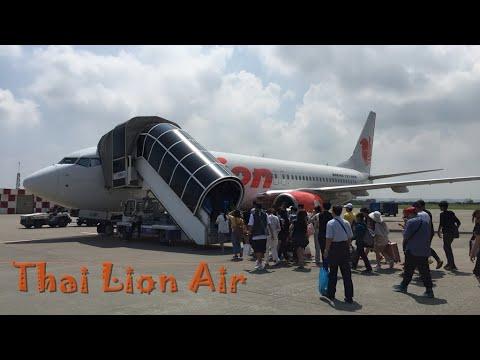 泰國獅子航空 初體驗 臺灣桃園 飛往 泰國曼谷 Thai Lion Air - YouTube