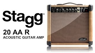 Stagg 20AARUK Acoustic Guitar Amplifier