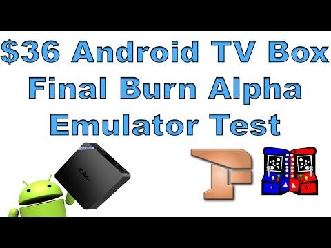 $36 Android Tv Box T95N Final Burn Alpha Emulator Test