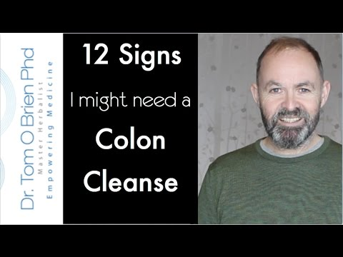 12 signs I might need a Colon Cleanse #coloncleanse