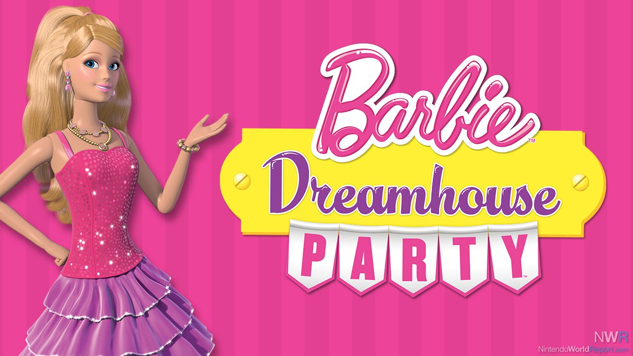 game barbie dreamhouse party