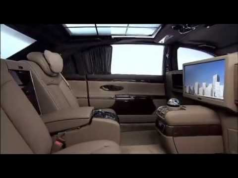 All New Maybach 62 Interior Youtube