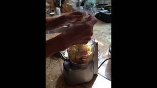 Lemon-Red Fresno Chile Butter