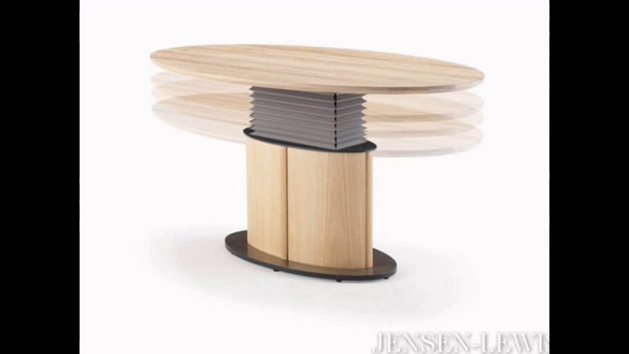 adjustable height coffee table YouTube