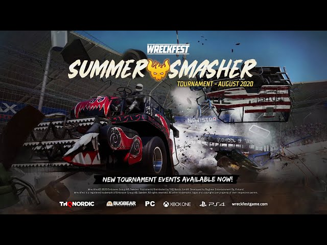 Wreckfest - Tournament Update August 2020