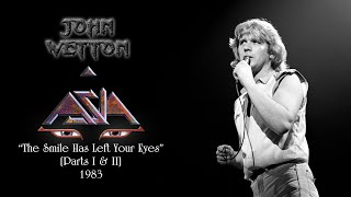 Asia - 'The Smile Has Left Your Eyes (Parts I & II)' (Reconstructed Original Arrangement)