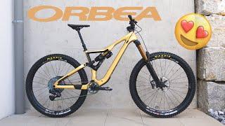 new ORBEA RALLON M10 custom 2021 - metallic gold [4K]