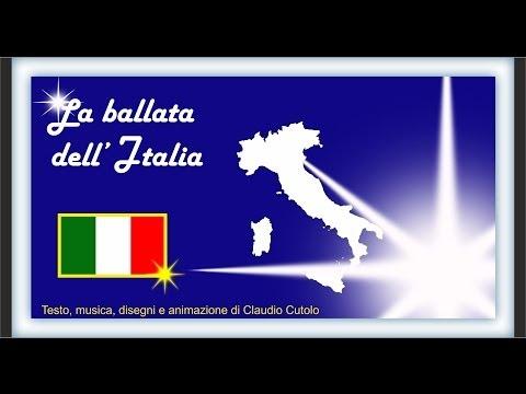 La ballata dell'Italia | Capoluoghi d'Italia | Canzoni per bambini
