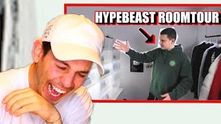 16-JÄHRIGER zeigt sein HYPEBEAST ZIMMER 😂 **reaction**