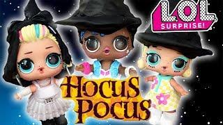 LOL Dolls Perform Hocus Pocus! Featuring Curious QT and Hotel Transylvania 2 Drac!