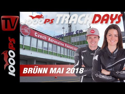 1000PS Bridgestone Trackdays - Eventvideo Brünn Mai 2018