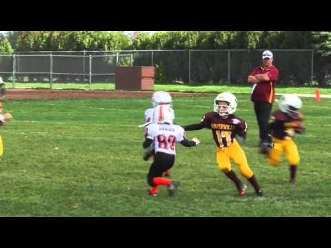 Fastest 6 year old Football Player (Runningback) - Miles Miskel