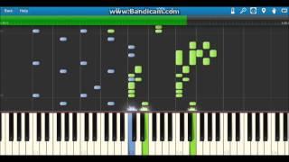 CIAOちゅ~るCM曲 〈ちゅ~るしよ! 〉piano