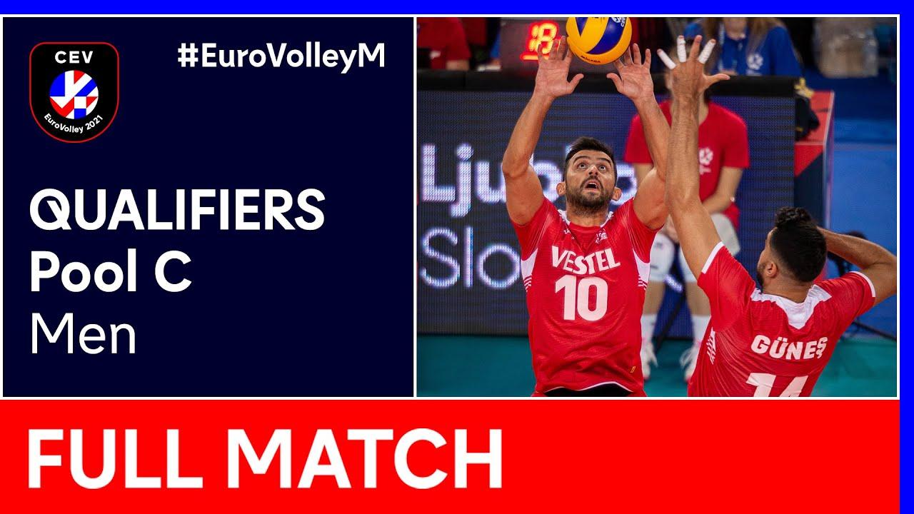 Bosnia & Herzegovina vs. Turkey - CEV EuroVolley 2021 Qualifiers Men