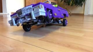 lEGO Joker's purple pneumatic lowrider (MOC)