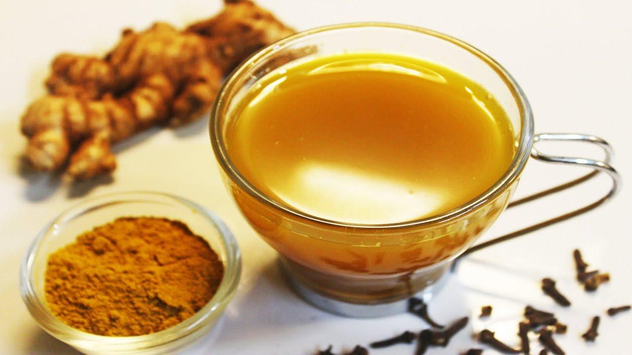 Ginger Turmeric Tea | Healthy Immunity Booster Drink | Ginger Tea |Turmeric Tea- Chef Lall's Ki