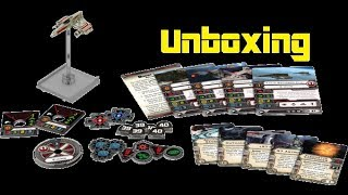 11th Legion Presents: X-Wing Miniatures Game: E-Wing Unboxing