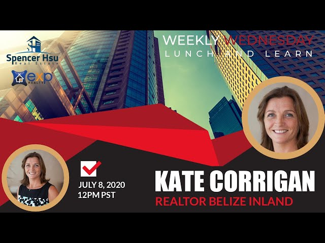 Ambergris Caye Belize Real Estate with Kate Corrigan | Weekly Wednesday Lunch and Learn