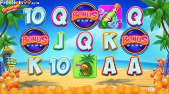 Spinions Beach Party Slot BONUS GAME
