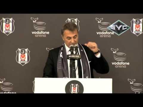Fikret Orman'ın Beşiktaş Vodafone Arena açılışında konuşamayışı