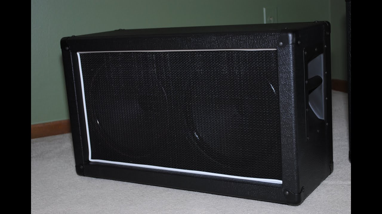 2x12 Bass Cabinet 2x12 Speaker Cabinet Diy Project Youtube