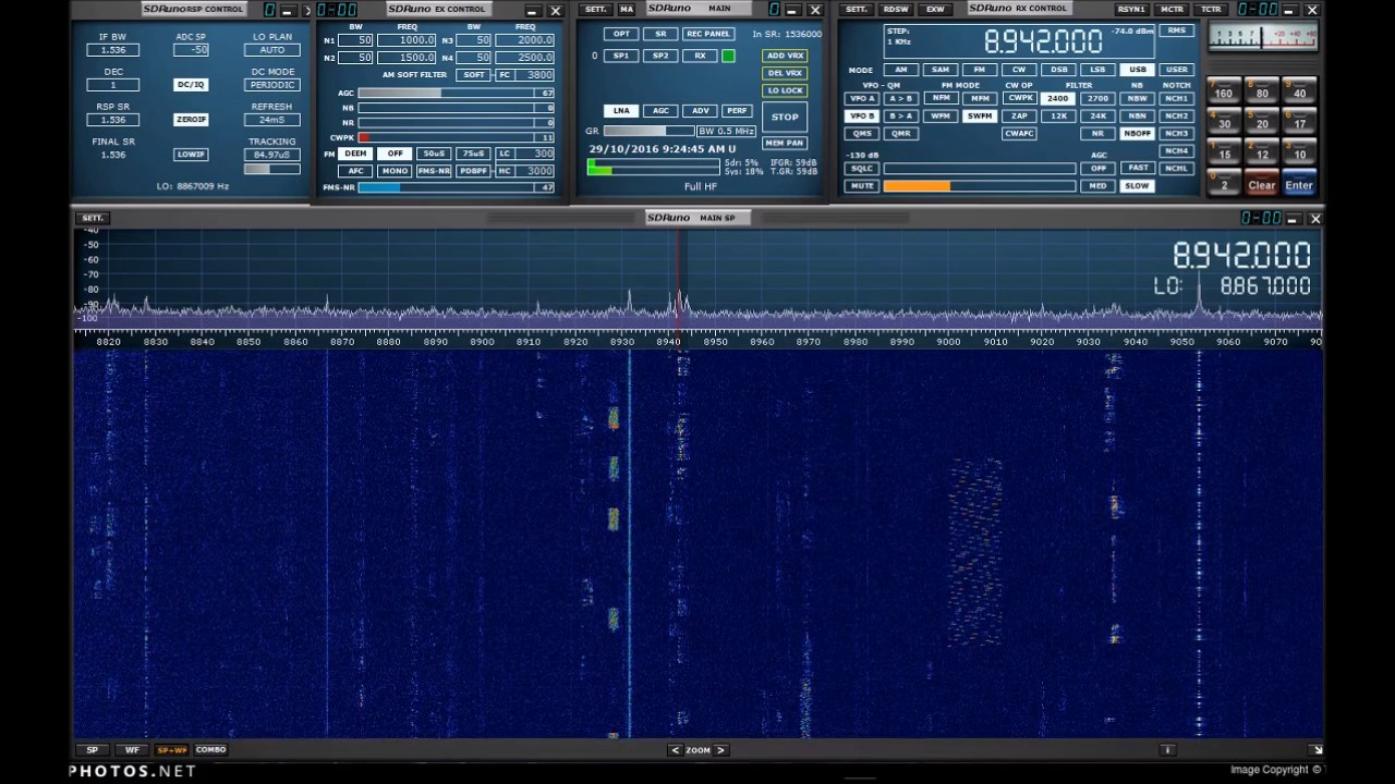 SDRPlay SDRuno HF Airband v2