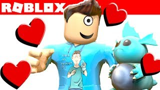 MY NEW BEST FRIEND IN ROBLOX! Meet Nibbles! (Roblox Death Run)