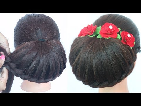 easy-updo-hairstyle-with-trick-||-latest-hairstyle-||-party-hairstyle-||-prom-hairstyle-||-hairstyle