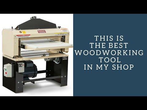 Woodmaster 725 Unboxing And Review