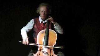 Bach Gavotte I & II Cello Suite No 5 C minor BWV 1011. Georg Mertens