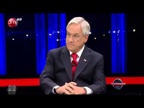 Presidente Sebastián Piñera en Tolerancia Cero Primer Bloque