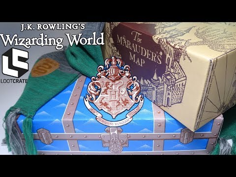 2 Wizarding World LOOT CRATES J.K. Rowling Harry Potter Subscription Box