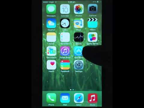 How to - iPhone 6 App store and installing apps