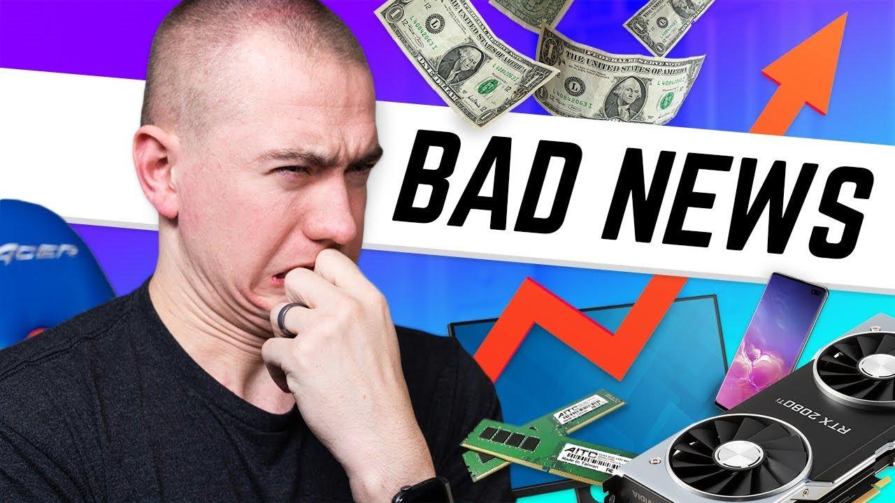 Les prix techniques pourraient monter en flèche?!? + vidéo