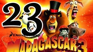 Madagascar 3: The Game Walkthrough Part 23 (PS3, X360, Wii) Mission 1 - London