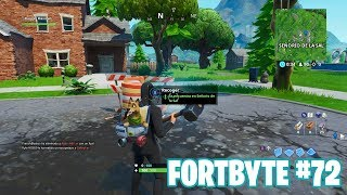 Fortnite Battle Royale ? Fortbyte Challenges How to get the Fortbyte #72