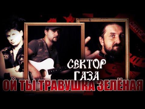Ой ты, травушка зелёная - СЕКТОР ГАЗА / Как играть на гитаре (2 партии)? Аккорды, табы - Гитарин