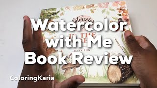 Watercolor with Me: In the Forest book review